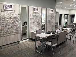Our newly remodeled optical dispensary.